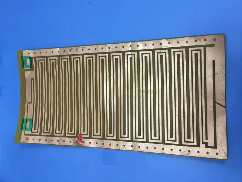 single flex PCB without any coverlayer
